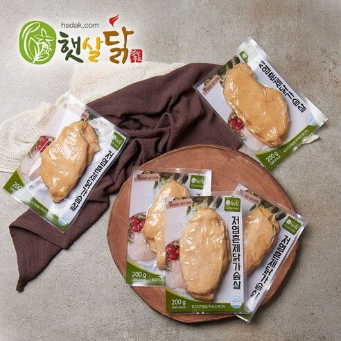 햇살닭 저염훈제 닭가슴살