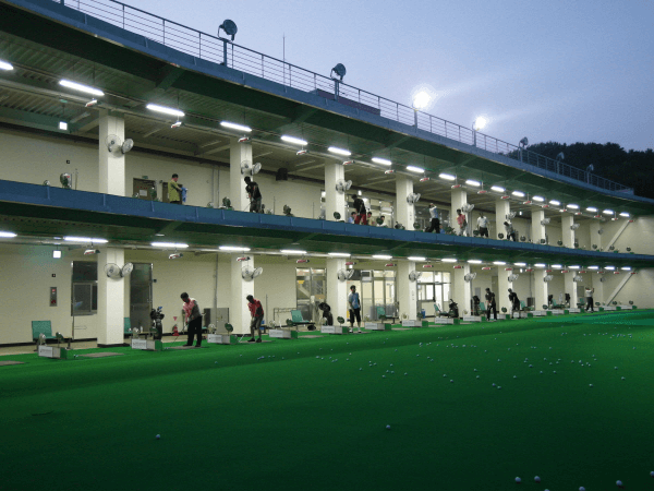 골프 초보 입문 - 야외 골프 연습장